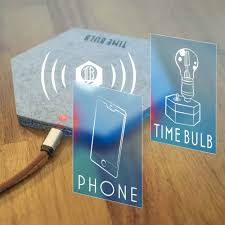 timebulb wireless charging cordless l