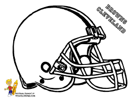 Free Printable Coloring Pages Nfl Football Helmets