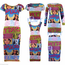 tunic midi dress barbie crop top ladies bodycon pencil skirt 3 4
