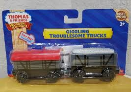 100 Thomas And Friends Troublesome Trucks FisherPrice The Train Wooden Railway Giggling