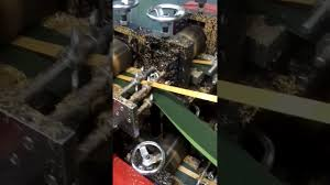 Flocking Machine For Christmas Trees by Christmas Tree Making Machine Youtube
