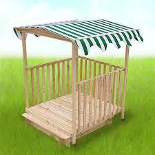 bac a avec toit à avec abri en bois avec toit pour enfants
