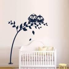 sticker mural chambre bébé stickers doux oiseaux
