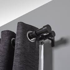 Amazon Double Curtain Rods by Amazon Com Umbra Cappa 1 1 4 Inch Double Curtain Rod For Window