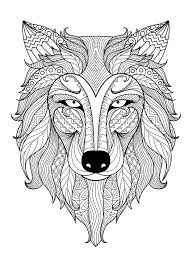 Get The Coloring Page Wolf
