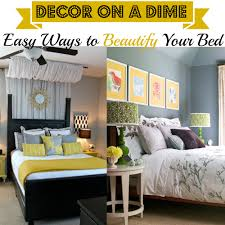 Decor On A Dime Easy Ways To Beautify Your Bed