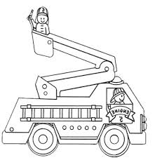 100 Fire Truck Drawing Truck 18 Coloring Pages 7 Futuramame