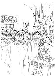 24 Harry Potter And The Philosophers Stone Coloring Pages