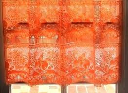 Rust Valance Rust Colored Curtain Valance Rust Colored Curtains