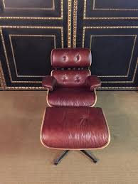 Charles Eames Style Lounge Chair With Ottoman