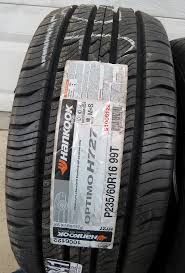 Hankook H727 P235/60R16 99T All-Season Tires NEW Hankook Tires Performance Tire Review Tonys Kinergy Pt H737 Touring Allseason Passenger Truck Hankook Ah11 Dynapro Atm Consumer Reports Optimo H725 95r175 8126l 14ply Hp2 Ra33 Roadhandler Ht Light P26570r17 All Season Firestone And Rubber Company Car Truck Png Technology 31580r225 Buy Koreawhosale