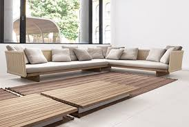 Modern Style Outdoor Sectional Furniture With Sabi Contemporary Sofa Designs By Paola Lenti 10