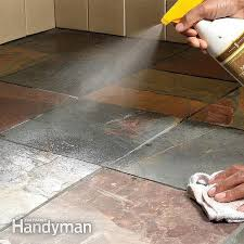 sealing tile floor flooring ideas