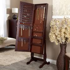 Furniture: Traditional Wooden Full Length Mirror Jewelry Armoire ... Belham Living Swivel Cheval Mirror Jewelry Armoire Hayneedle Armoire Jewelry Cabinet Abolishrmcom Powell Lightly Distressed Deep Cherry Armoires And Chests Organizeit Coaster 900146 White Traditional Fniture Style Wood Wall Mounted Wooden Full Length Storage Walmartcom Harper Espresso Heritage Oak Drawers Florentine Collection Fascating Free Standing