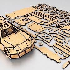 49 best dxfplans puzzles 3d images on pinterest laser cutting