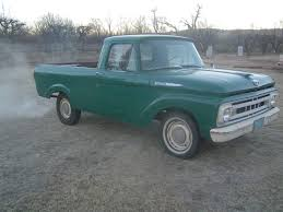 1961 Ford F100 Unibody - Classic Ford F-100 1961 For Sale