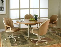 Dining Chairs ~ Casual Dining Room Chairs With Wheels Dining Chair ...