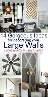Nice Design Ideas Decor For Large Wall Or DIY Lots Of Renter Friendly Options Too High Walls Kitchen Dining Room Empty A