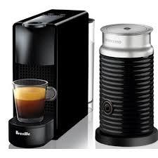 Breville Nespresso Essenza Mini Coffee Machine Bundle Black