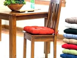 Non Slip Chair Cushions Black Kitchen Chairs Dining And White Room Pads Cushion Slipcovers