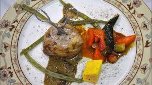 dressage des assiettes en cuisine plats gastronomie française dressage assiette mets français idée