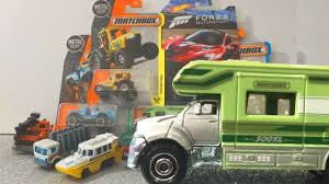 Cars For Kids - Matchbox Trucks 2017 Case L - MBX RV & Aqua King ... Matchbox Cars And Trucks Friend For The Ride Light Sound Small Mr Toys Toyworld Superfast No61 Wreck Truck Ebay Petrol Pumper Model Hobbydb Vintage Trucksvans 6 Vehicles 19357017 Pile With Dozer Saint Sailor Camo Styles May Vary Walmartcom 19177 Iveco Tipper Superkings Series Action Amazoncom Mbx Explorers Chevy K1500 4x4 Pickup 88 Lesney No 48 Dodge Dumper Red Dump 1960s Transport Semi Car Carrier Toy Boys Large 18 Jimholroyd Diecast Collector