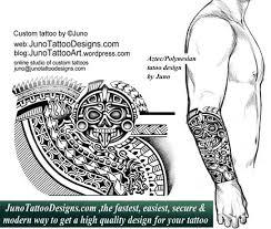 Aztec Tattoo Polynesian Tattootribal Tattooquetzal Serpent Forearm