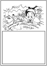 Hunting For Ants Coloring Page