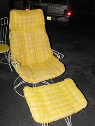 Vintage Homecrest Patio Furniture by Homecrest Vintage Wire Frame Replacement Cushions Collection At