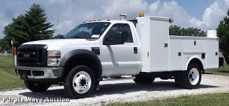 2008 Ford F550 Super Duty XL Service Truck   Item DD7239   S...