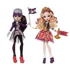 Ever After High School Spirit Apple White And Raven Queen Doll 2Pack