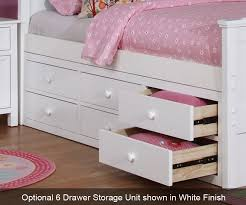 Twin Captains Bed With 6 Drawers by Twin Size Bookcase Captains Daybed Pecan Allen House Kids