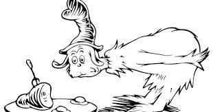 Dr Seuss Coloring Pages Green Eggs And Ham Page
