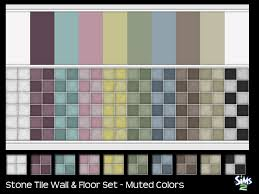 sailfindragon tile wall floors muted colors sims 2