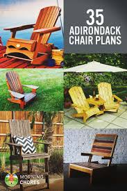 100 Comfortable Outdoor Rocking Chairs For Small Spaces 35 Free DIY Adirondack Chair Plans Ideas For Relaxing In Your Backyard