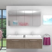 badmöbel set city 200 v1 eiche braun badezimmermöbel waschtisch 160 cm nein ohne led beleuchtung