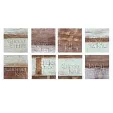 stickers cuisine carrelage stickers carrelages pour la cuisine effet bois usé avec texte cuisine