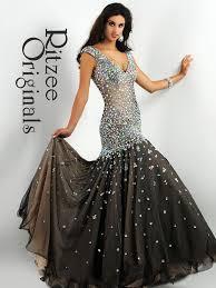 ritzee originals 2864 mermaid skirt pageant dress pageantdesigns