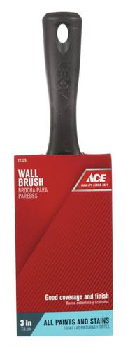 "Ace Stiff Flat Polyester Paint Brush - 3""W, Medium"
