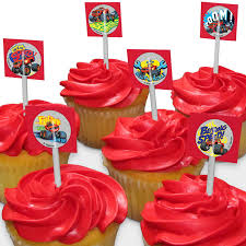 Alvin And The Chipmunks Cake Decorations by Blaze Party Supplies Blaze Cupcake Toppers Cake Decorations