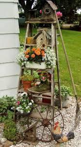 Picturesque Design Rustic Garden Decor Brilliant Diy Vintage And Ideas On A Budget