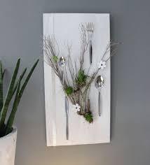 wd116 wanddeko für esszimmer oder küche holzbrett weiß