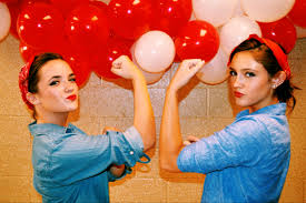 Rosie The Riveter Halloween Diy by Rosie The Riveter Twin Halloween Costume Super Quick Cute And