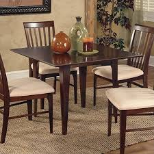 Atlantic Furniture Montreal Dining Table In Antique Walnut