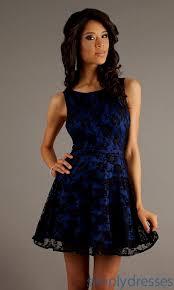 blue and black lace dress naf dresses