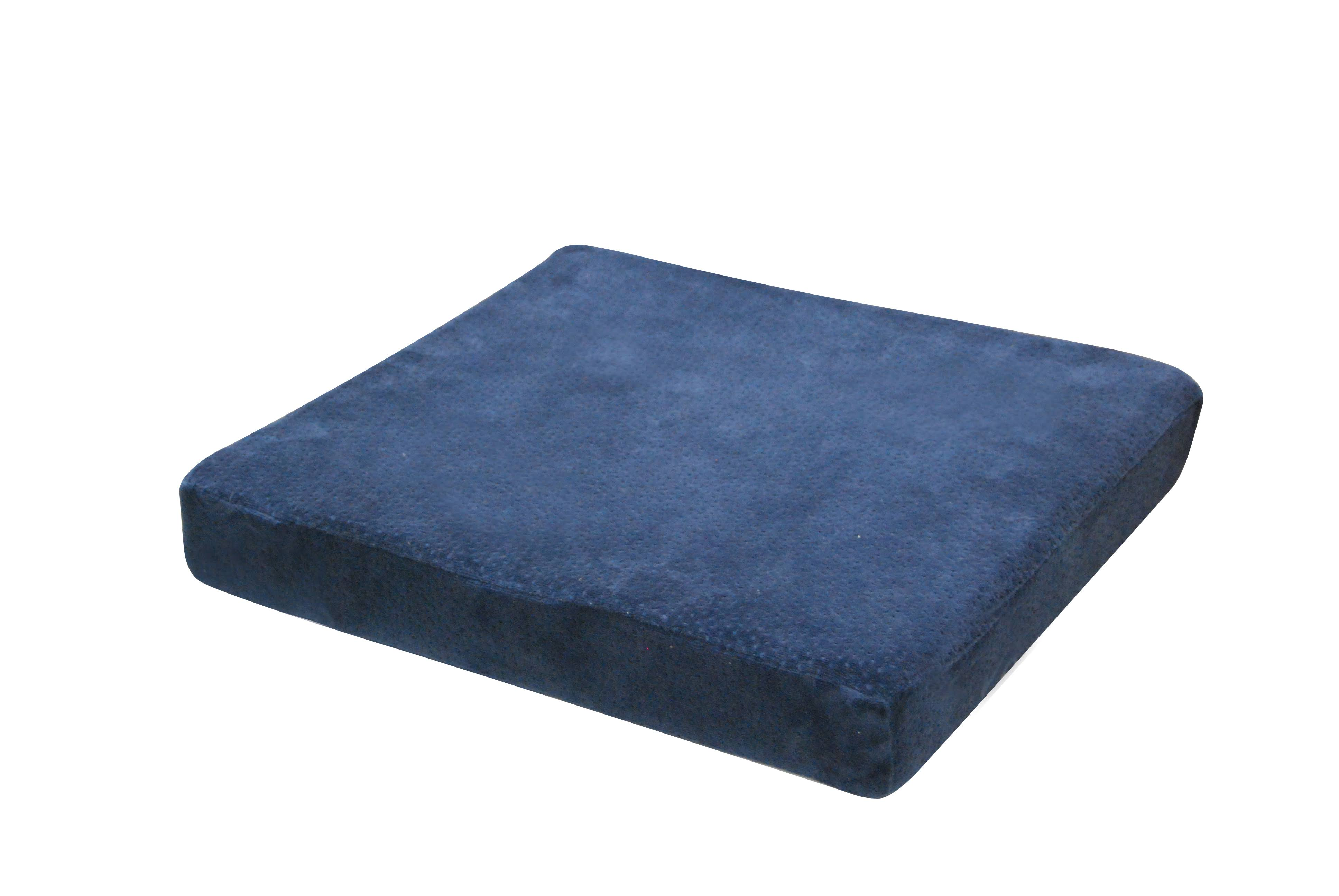 Drive Medical Foam Cushion - Navy Blue, 3''