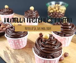 nutella haselnuss cupcake