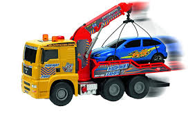 Amazon.com: Dickie Toys Air Pump Action Tow Truck, 21