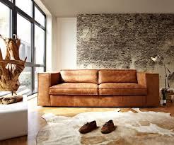 Darrin Leather Sofa From Jcpenney by Stoere Bank Sassari Van Het Anker In Africa Leder Walnut