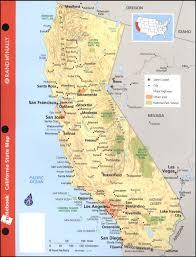 Notebook Map Of California Rand McNally Company 021429